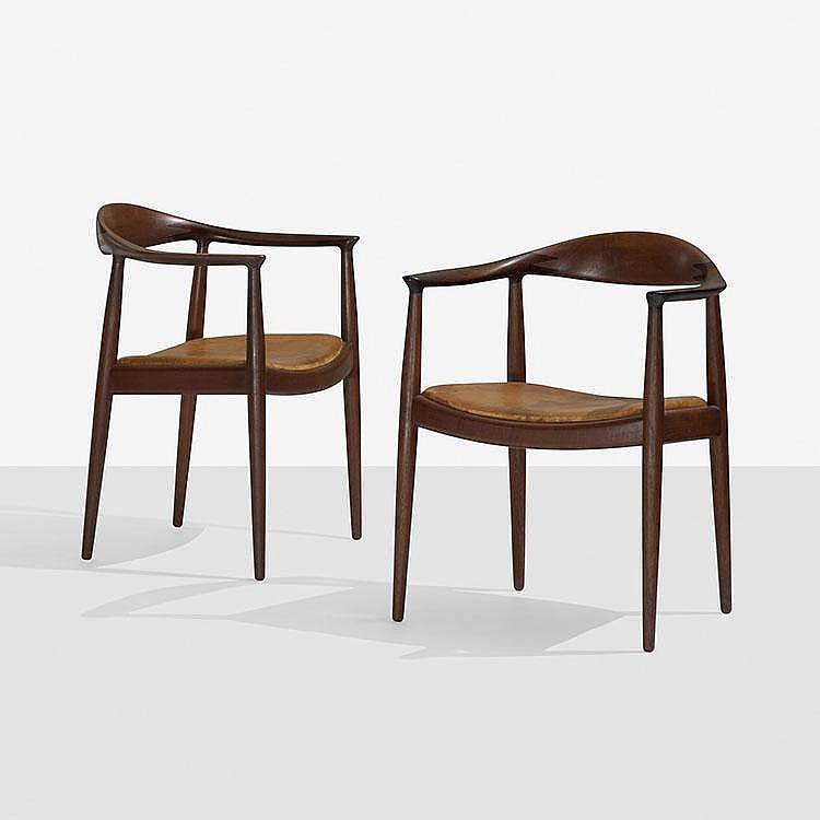 Hans Wegner The Chairs, pair