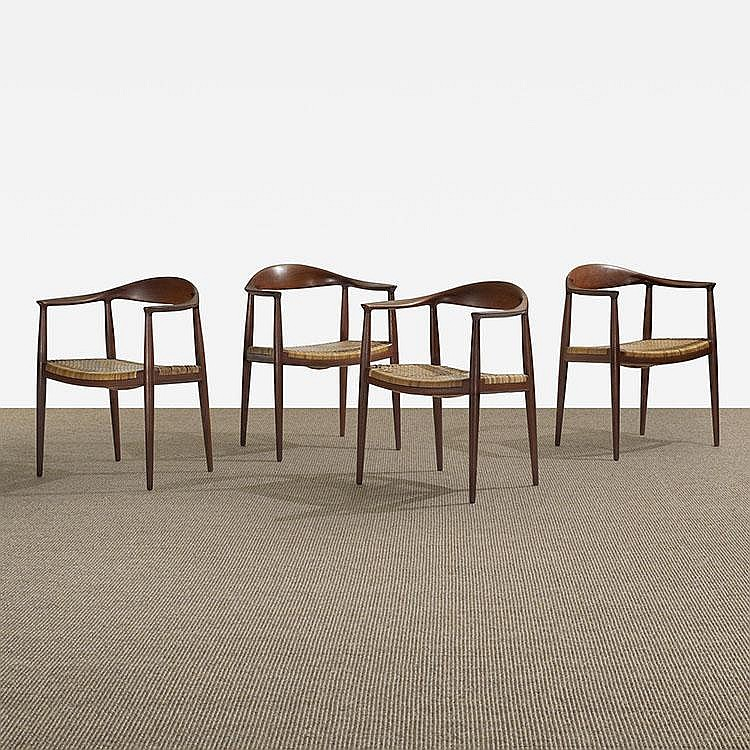 Hans Wegner The Chairs, set of four