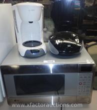 LG Microwave, Mr. Coffee Coffee Brewer & CD Radio
