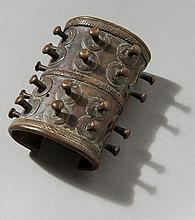 RARE OLD ARM CUFF WITH NUBS